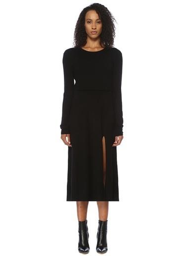 Maje Elbise Siyah